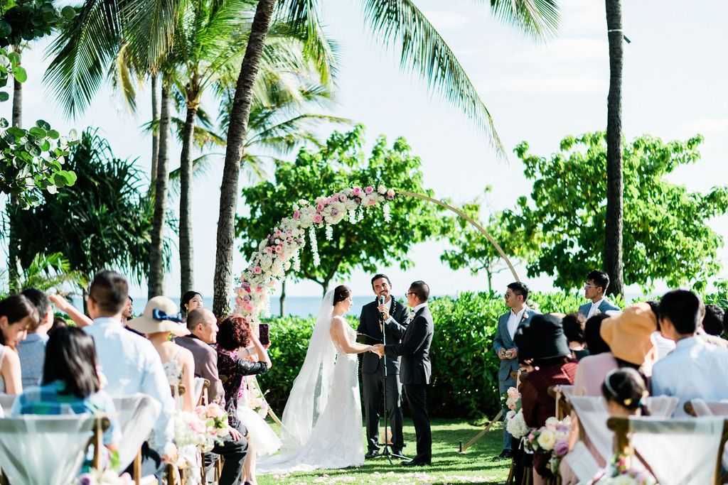 Four Seasons Oahu Wedding Hawaii Wedding Design Hawaii Wedding Day of Coordinator Planner