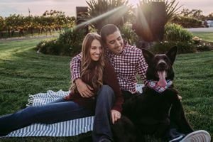 Beautiful Couple Engagement Photos Sonoma County Sunset