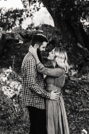 Beautiful Couple Engagement Photos Sonoma County