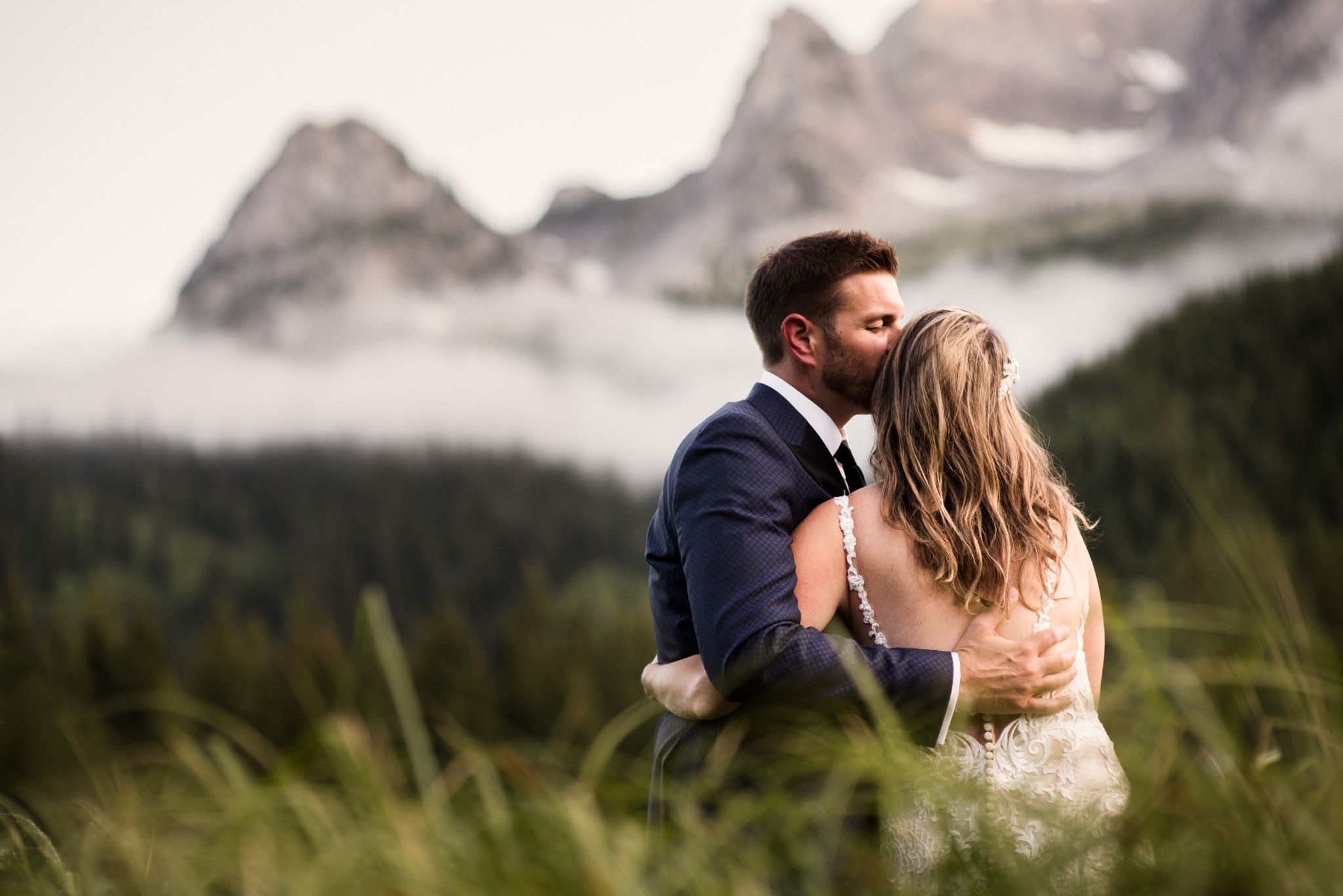 Island Lake Lodge Wedding