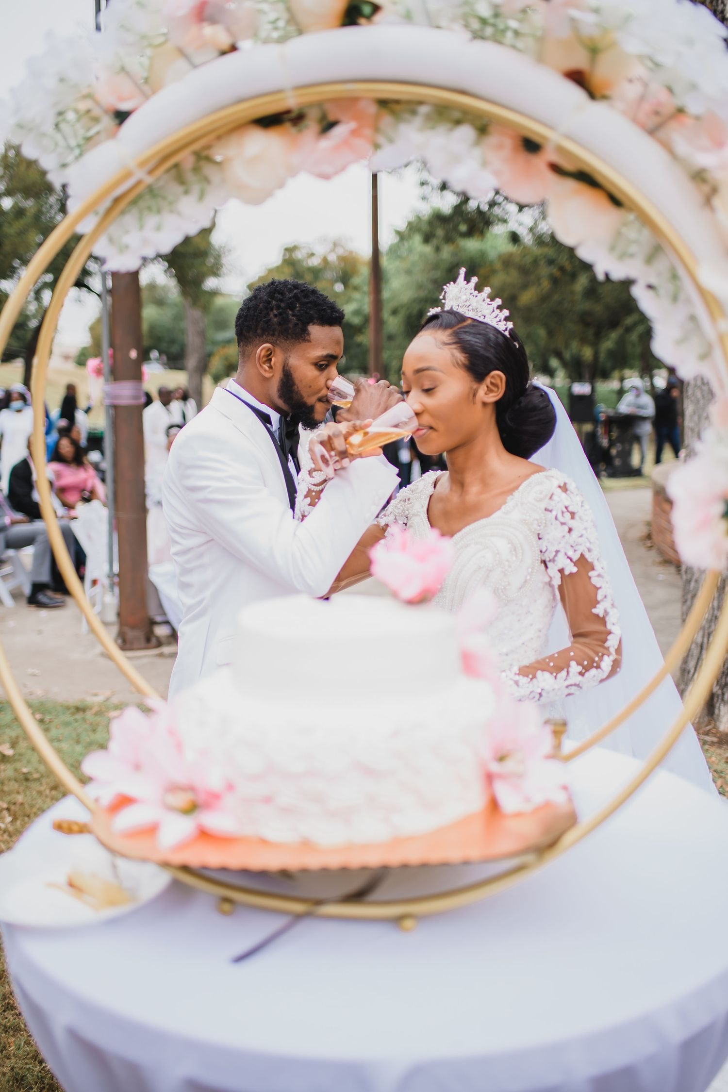 Black wedding photographer in Dallas