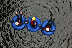 The Adventure Photographers Nae Limits Tubing Garry