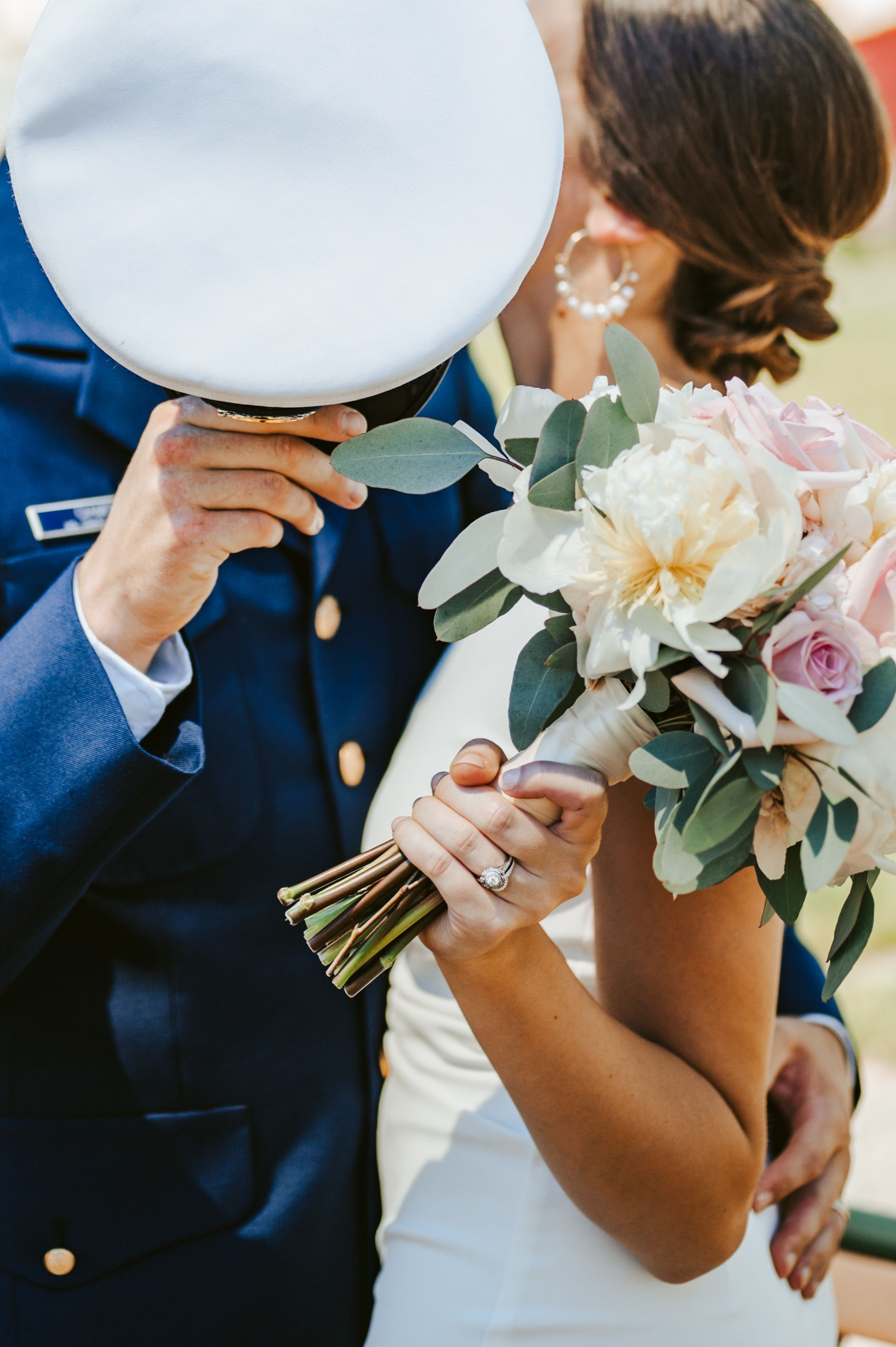 Military micro wedding and elopement specialists