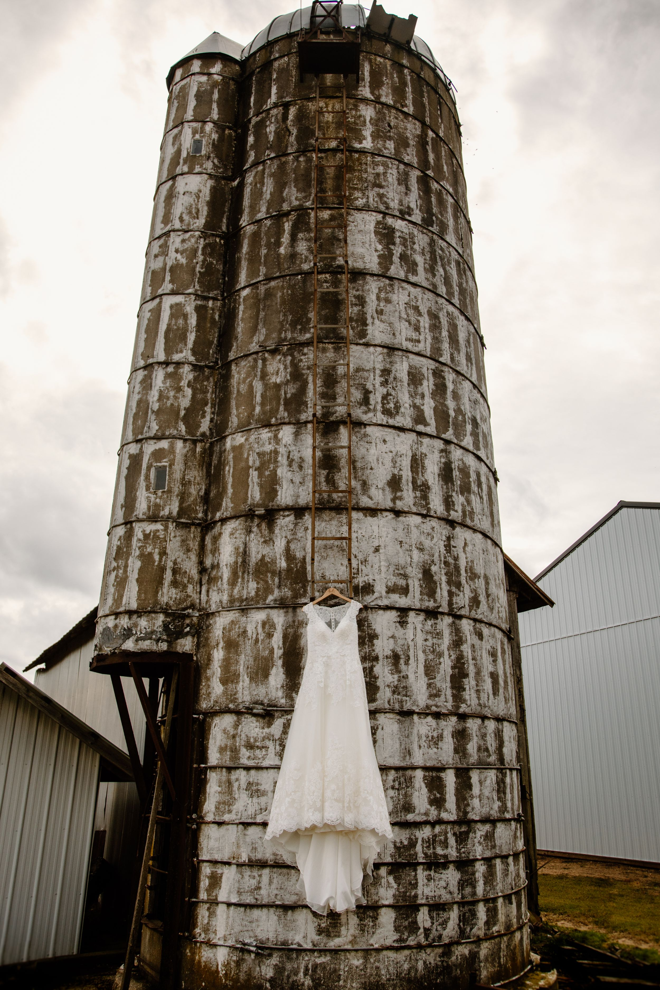 Barn weddings - we look for unique places special to our brides to display their gowns.