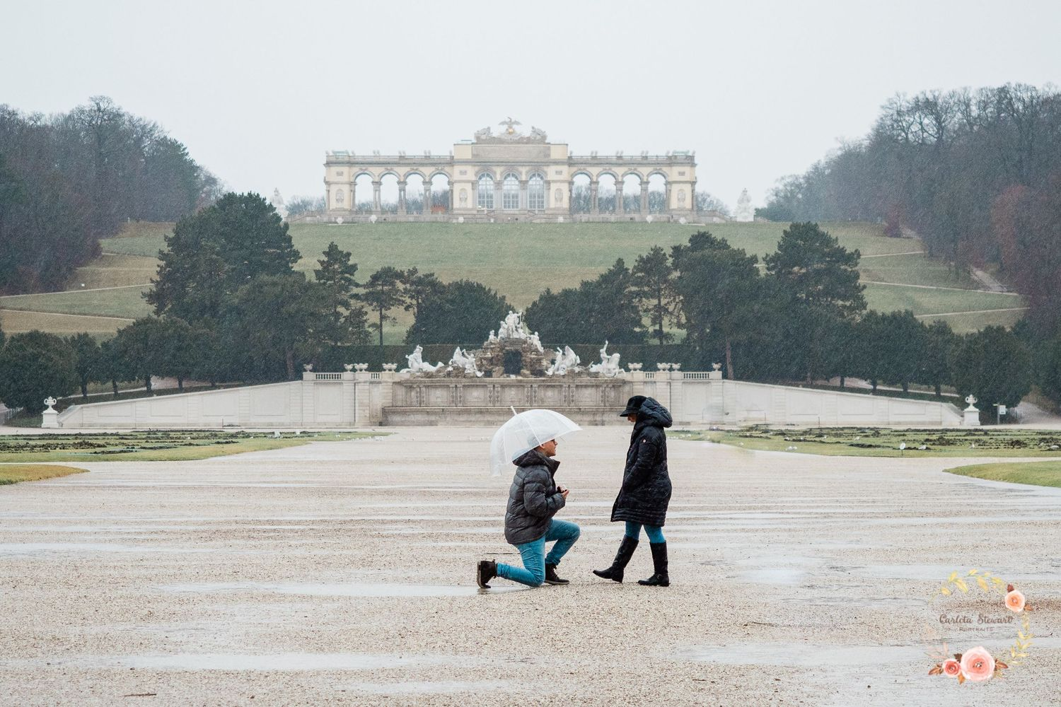 Destination and Engagement photography in Vienna, Austria