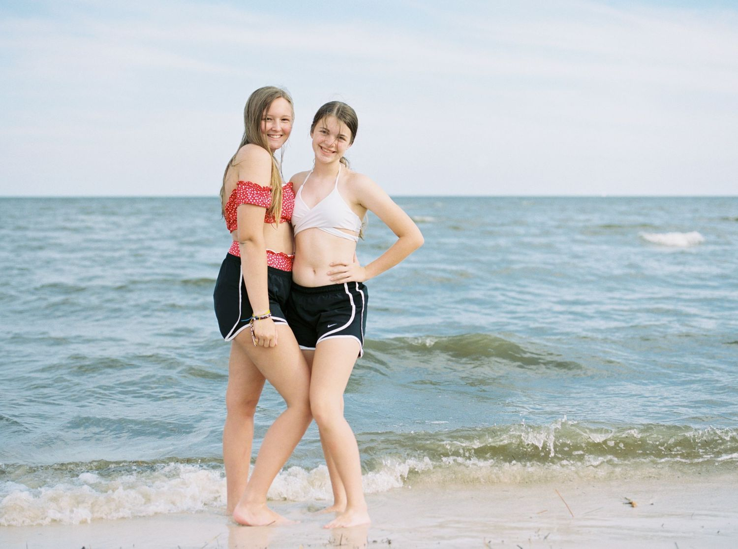 Mississippi teen portrait photography on Biloxi Beach.