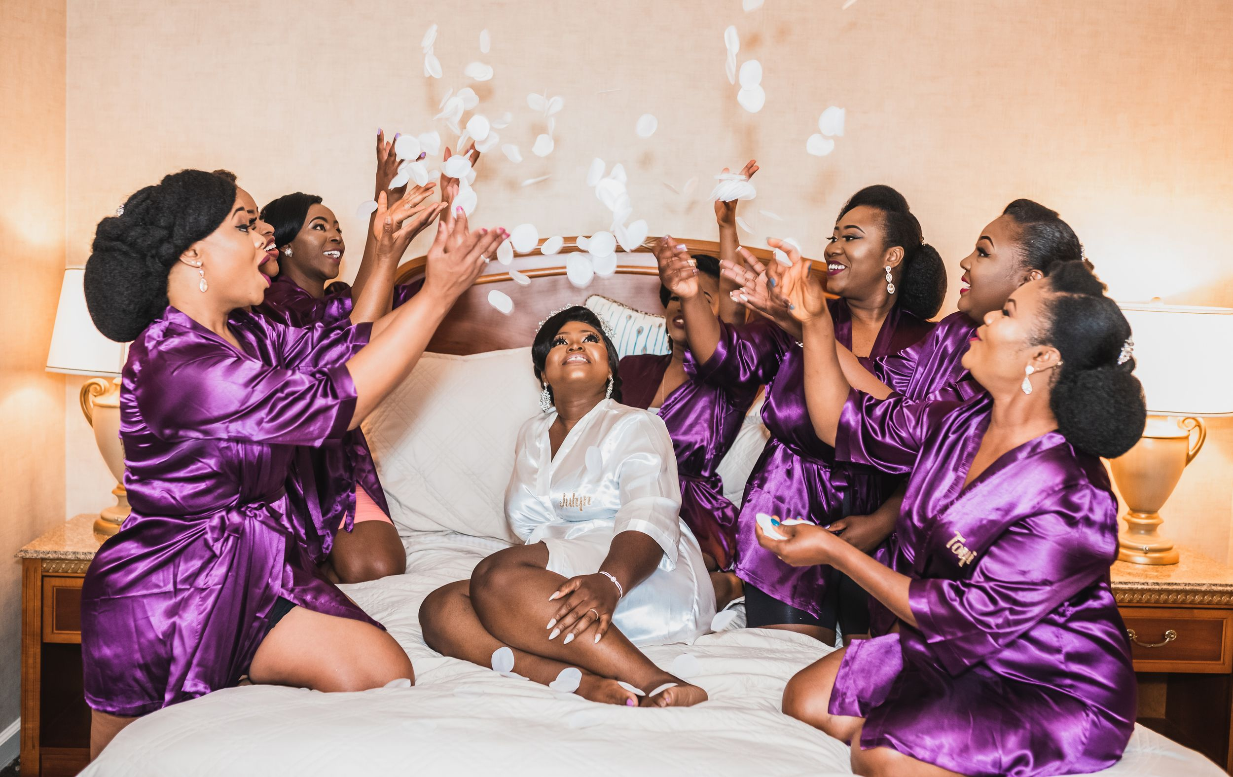 bridal party photo Dallas wedding - Dallas fort worth wedding photographer - Firre LAGRCE