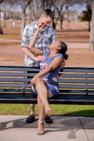 stunning engagement session Dallas fort worth wedding photographer - Firre LAGRCE