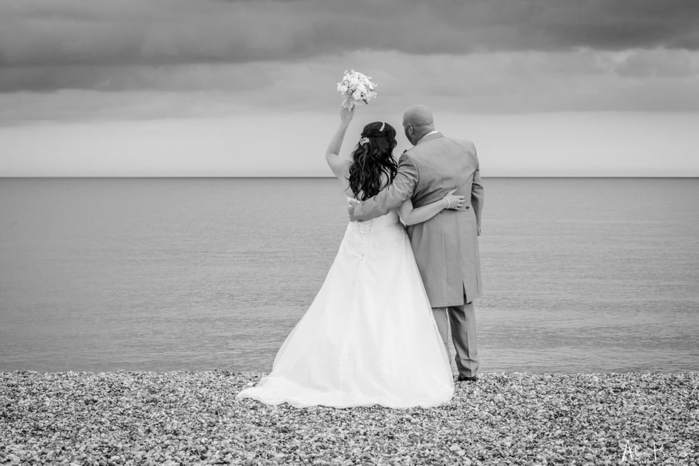 Beach Wedding photograph