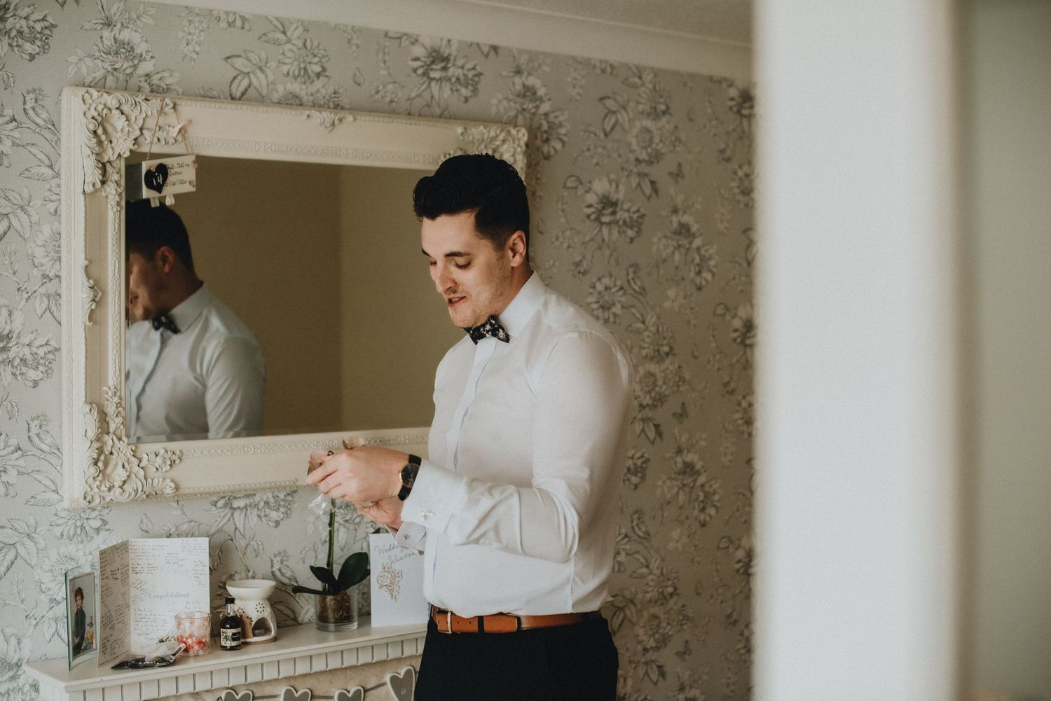 groom's preparations