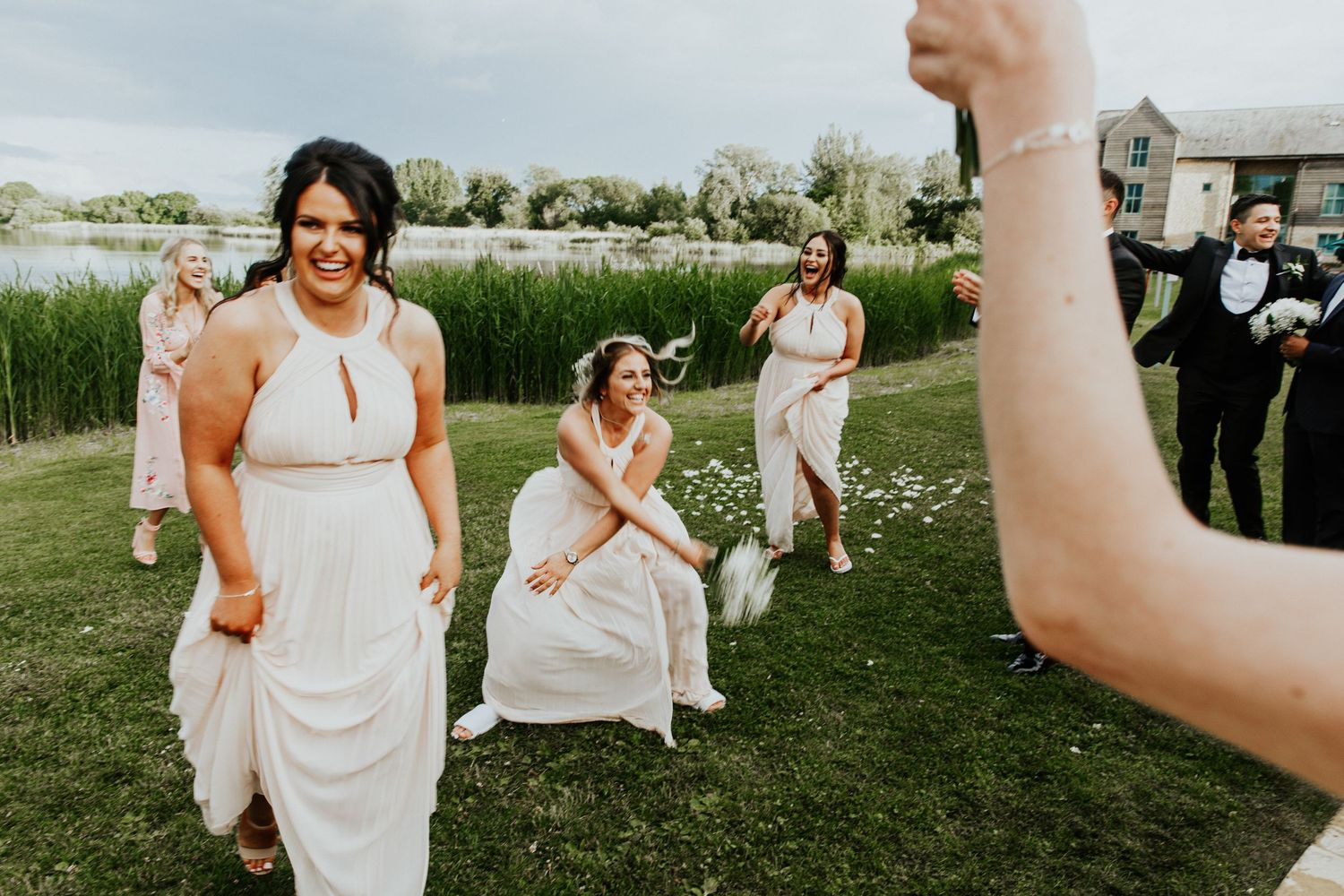 Cotswold Water Park wedding photography