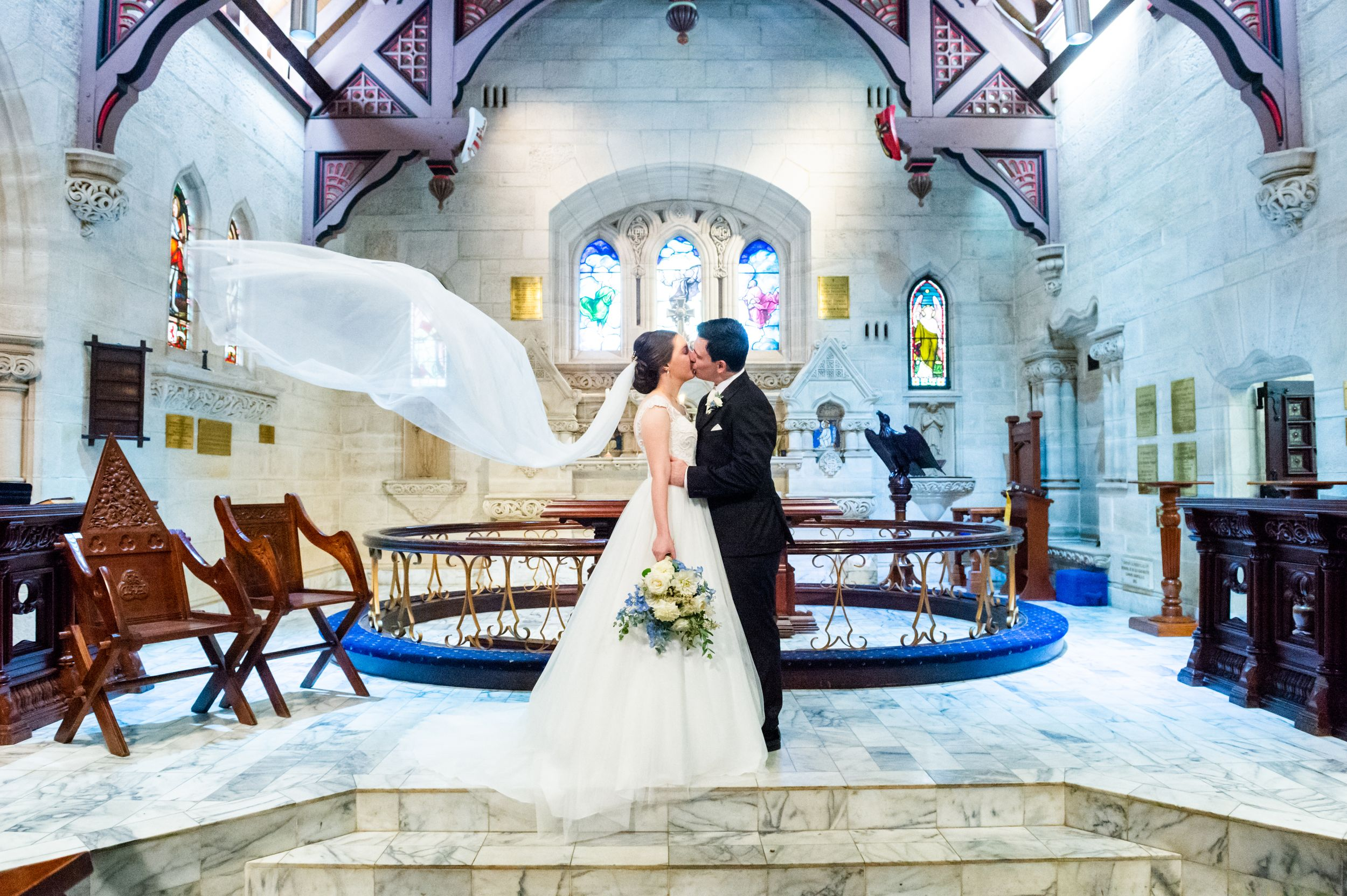 The Kings School Chapel Wedding