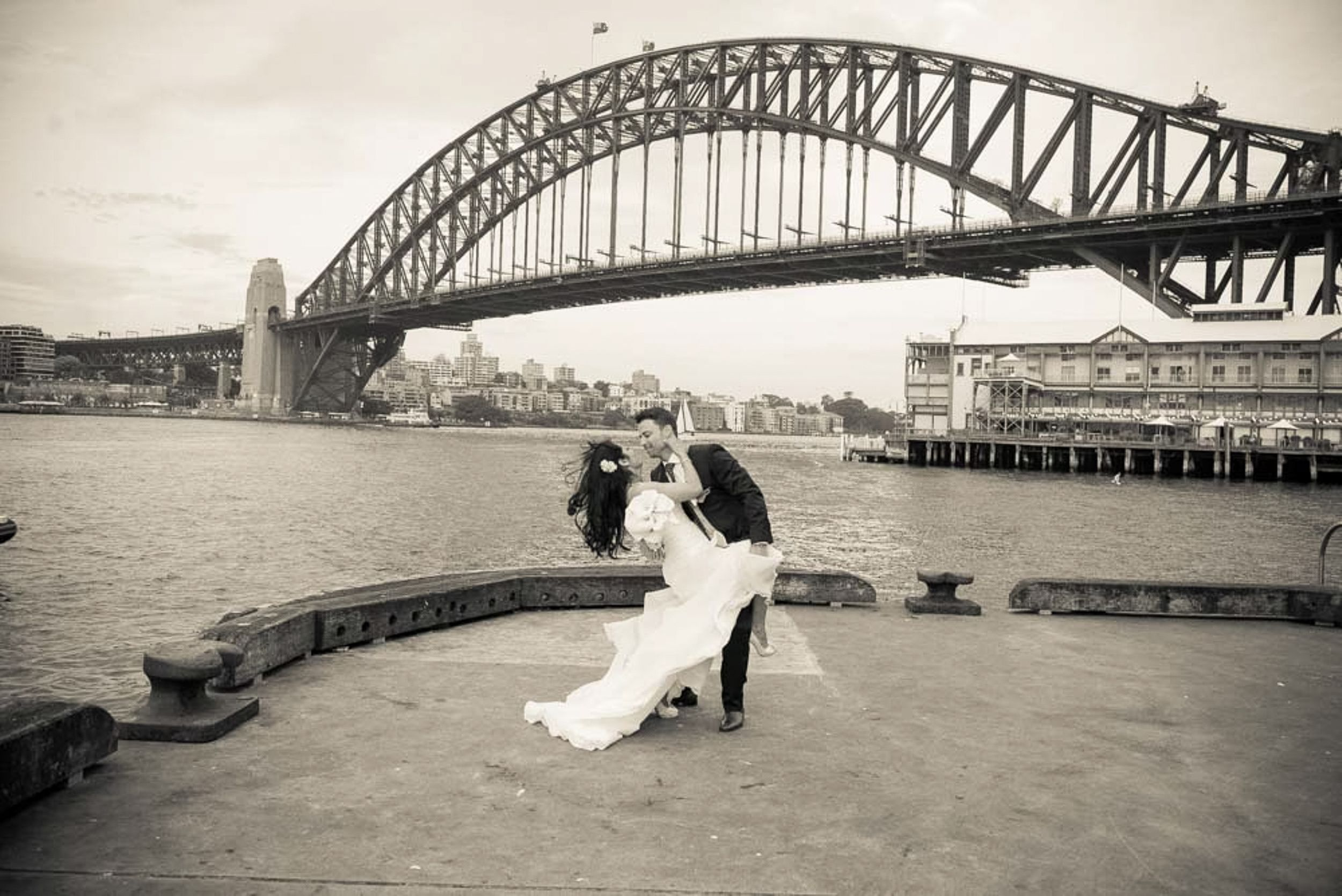 sydney harbour bridge wedding