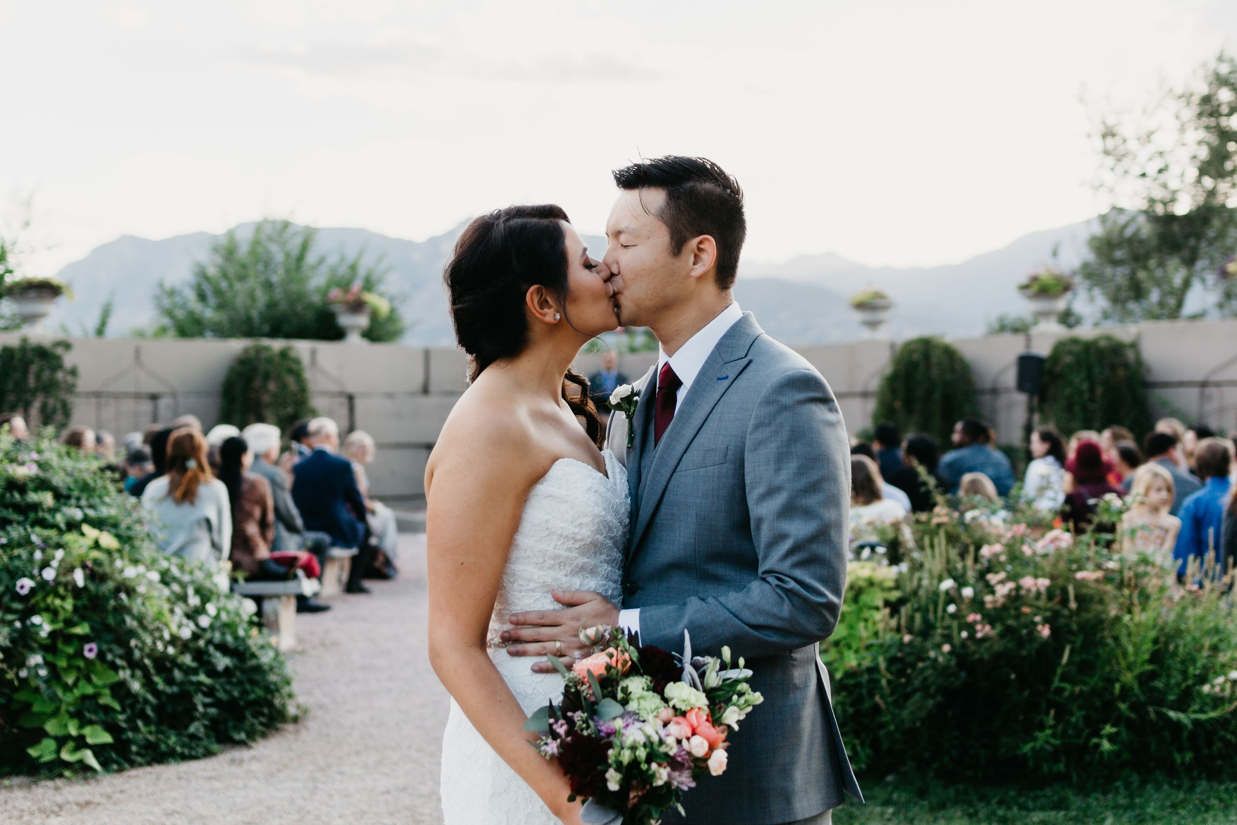 Hillside gardens Colorado Springs, Colorado wedding venues, best colorado wedding photographer,