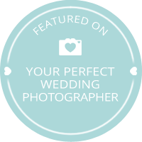 Your Perfect Wedding Photographer Badge