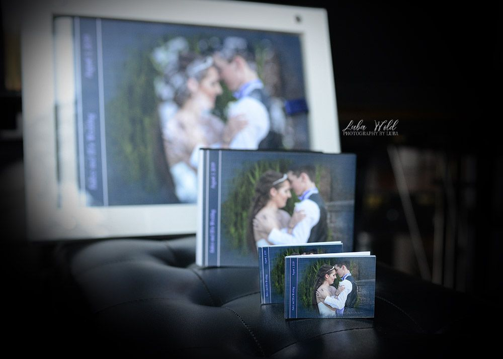 spokane wedding and parents and mini books photographer luba wold loving couple on a cover