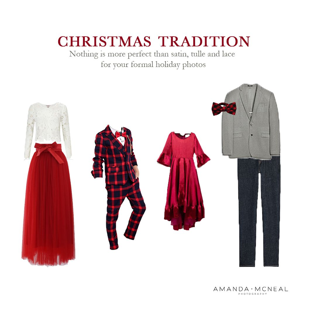 Nashville Photographer What to Wear Christmas Photo Session Style Guides
