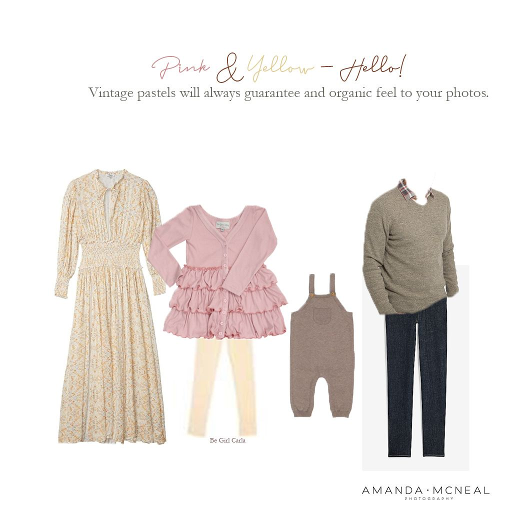 What to Wear Style Guides by Nashville Family Photographer