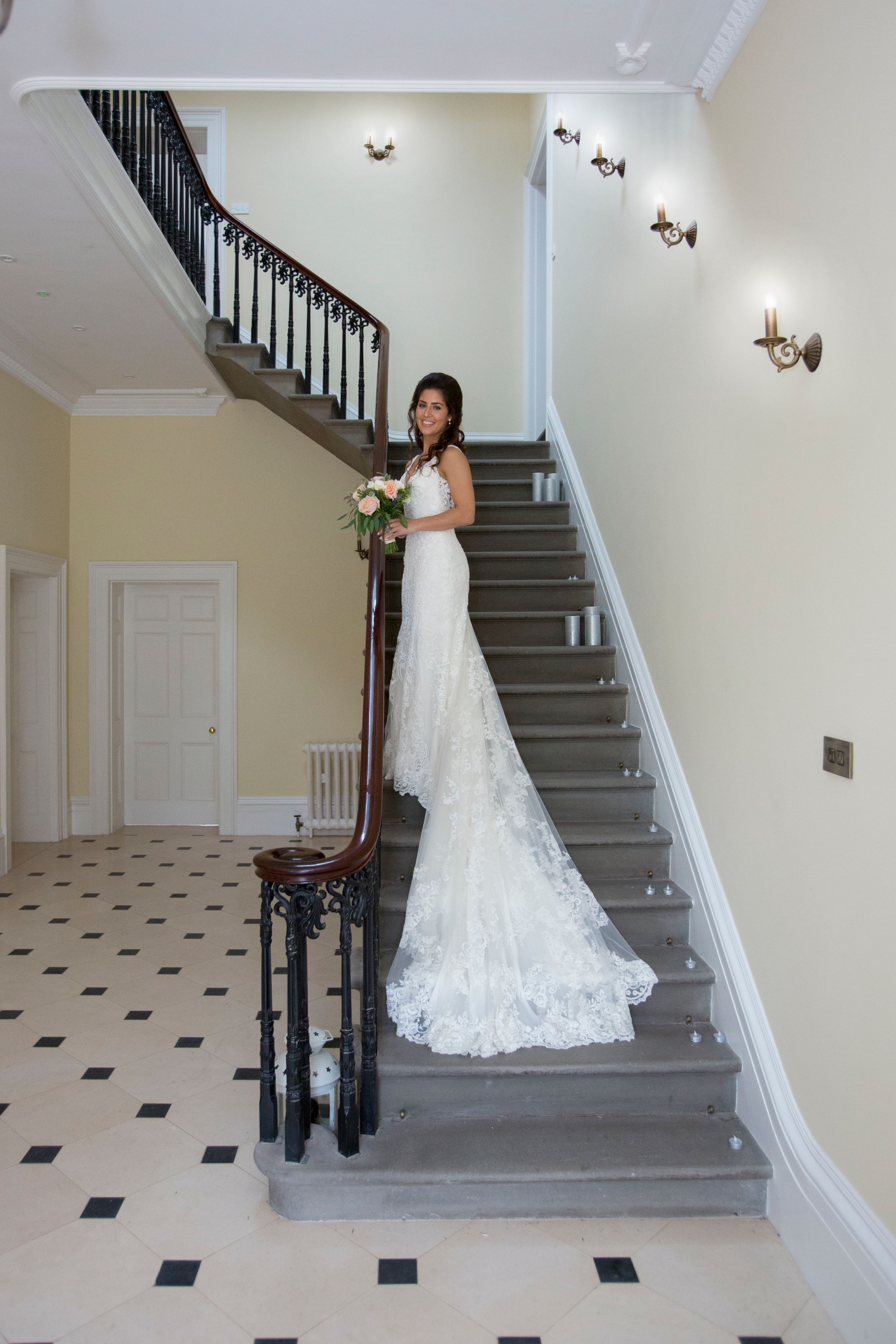 Georgina Bride at St Tewdrics House