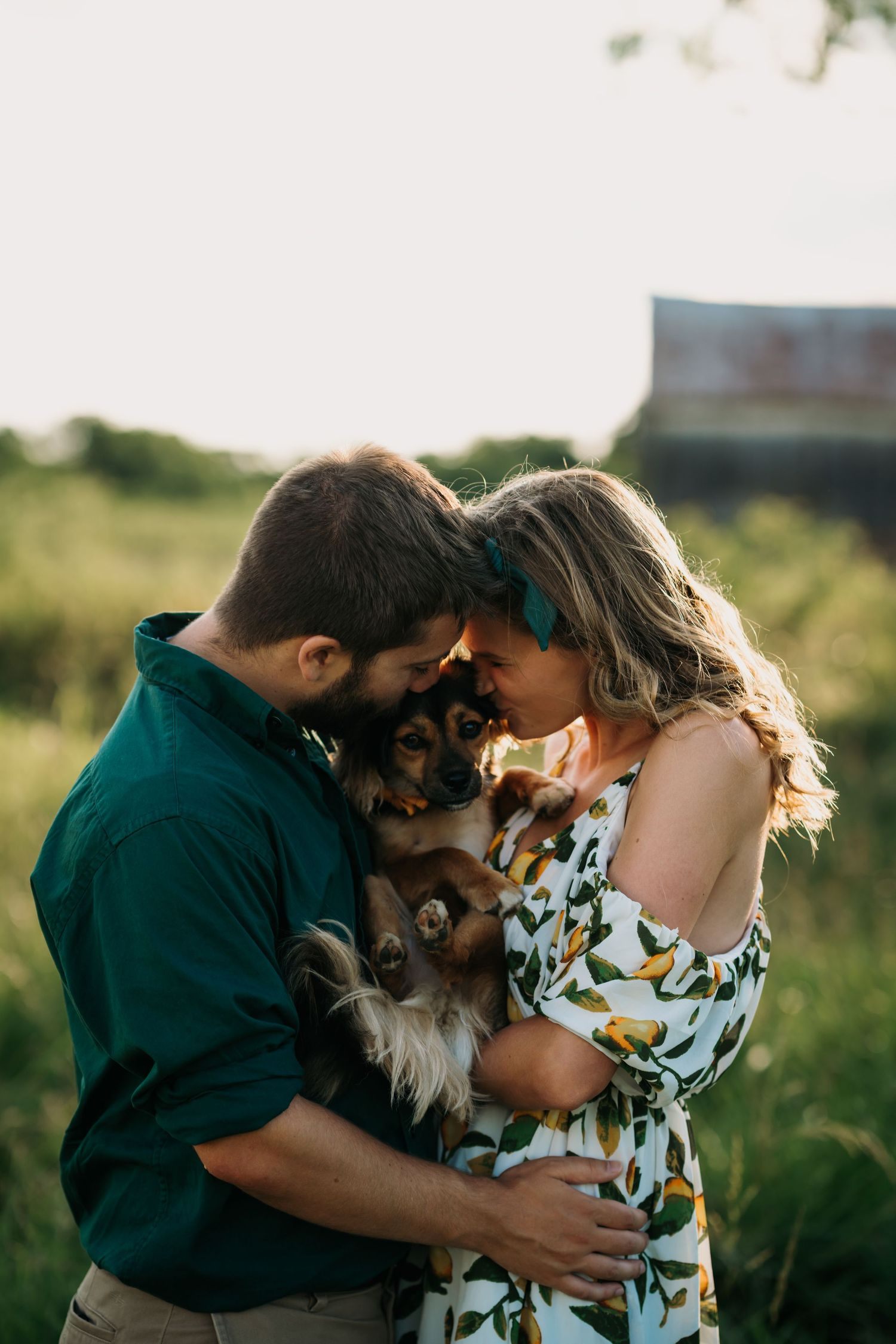 Family pet photographer in Cincinnati Oh Dog first birthday photos Dayton Ohio Couples photography near me