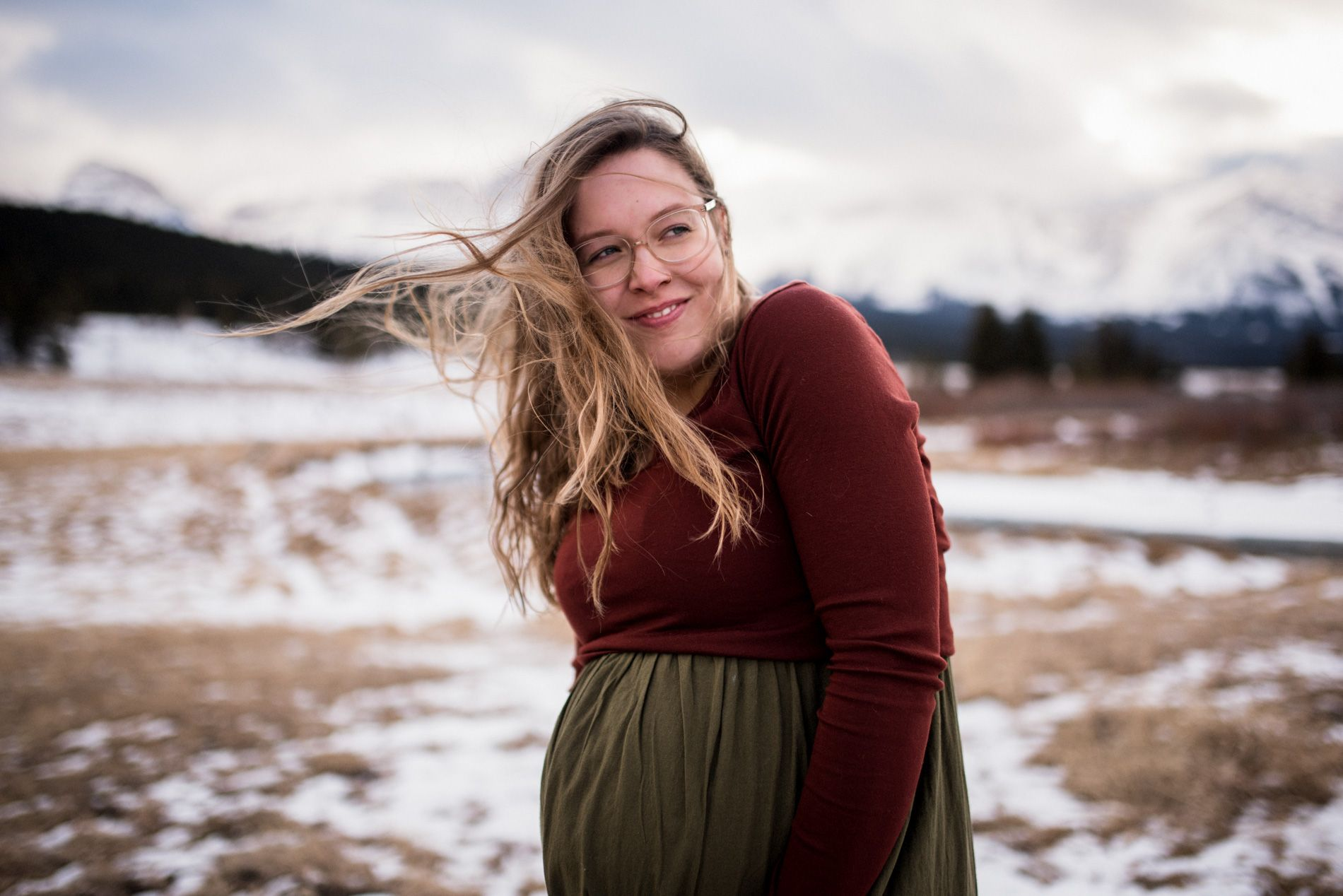 Crowsnest Pass Maternity Lifestyle Session