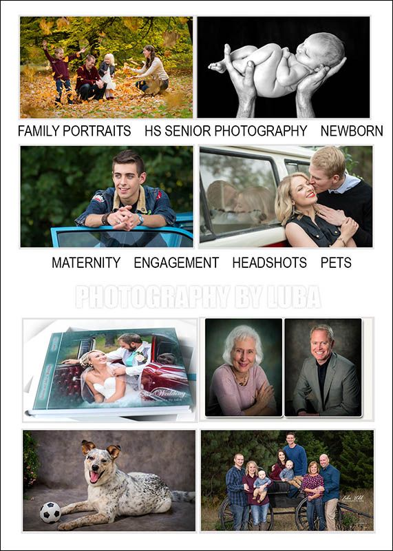 gift certificate idea for family portraits hs senior pictures newborn wedding birthday photographer luba wold