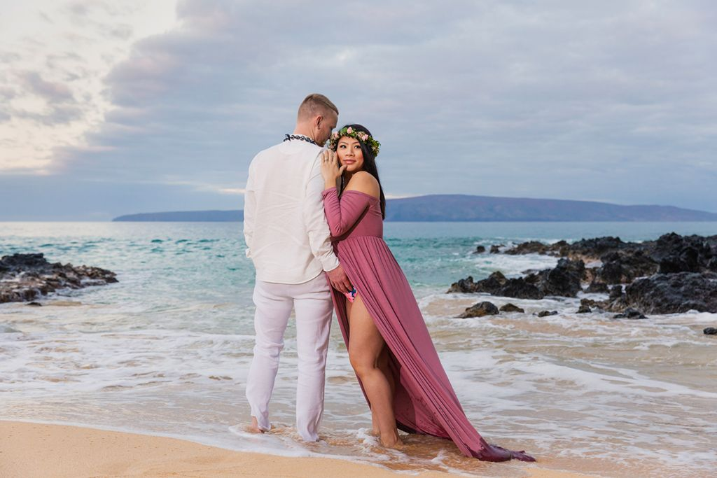 maui babymoon beach  photos