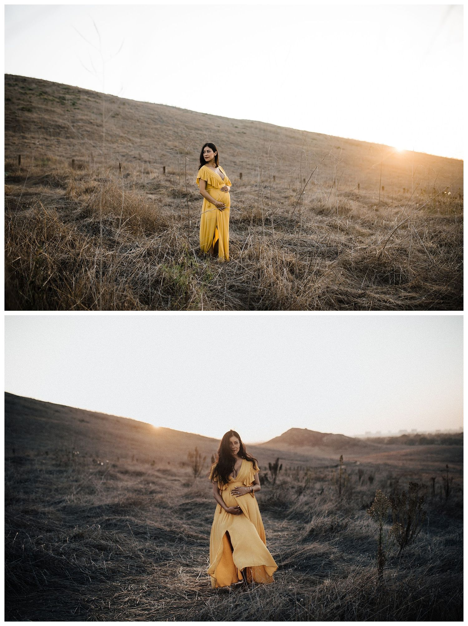 Southern California Sunset Maternity Photos