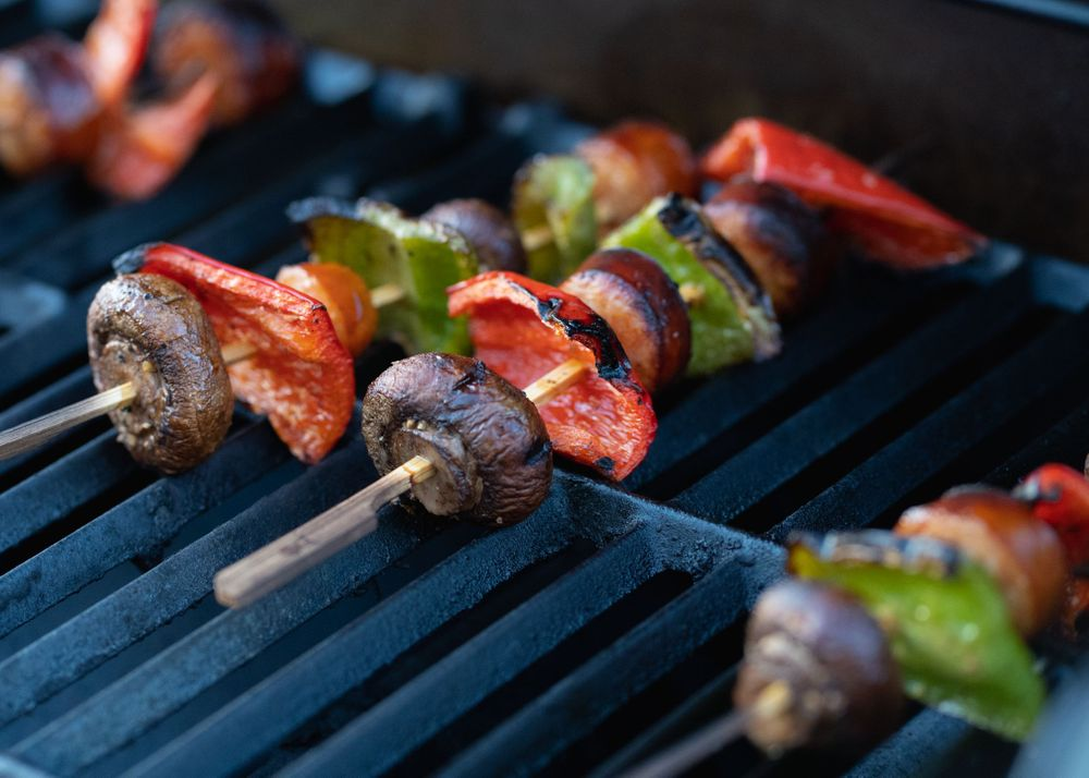 Kabobs in March
