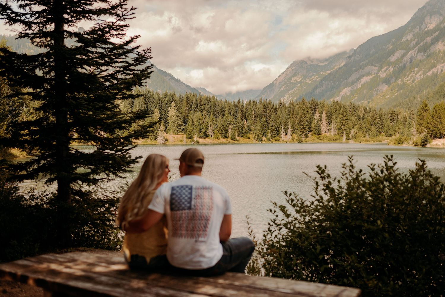 Gold Creek Pond Engagement