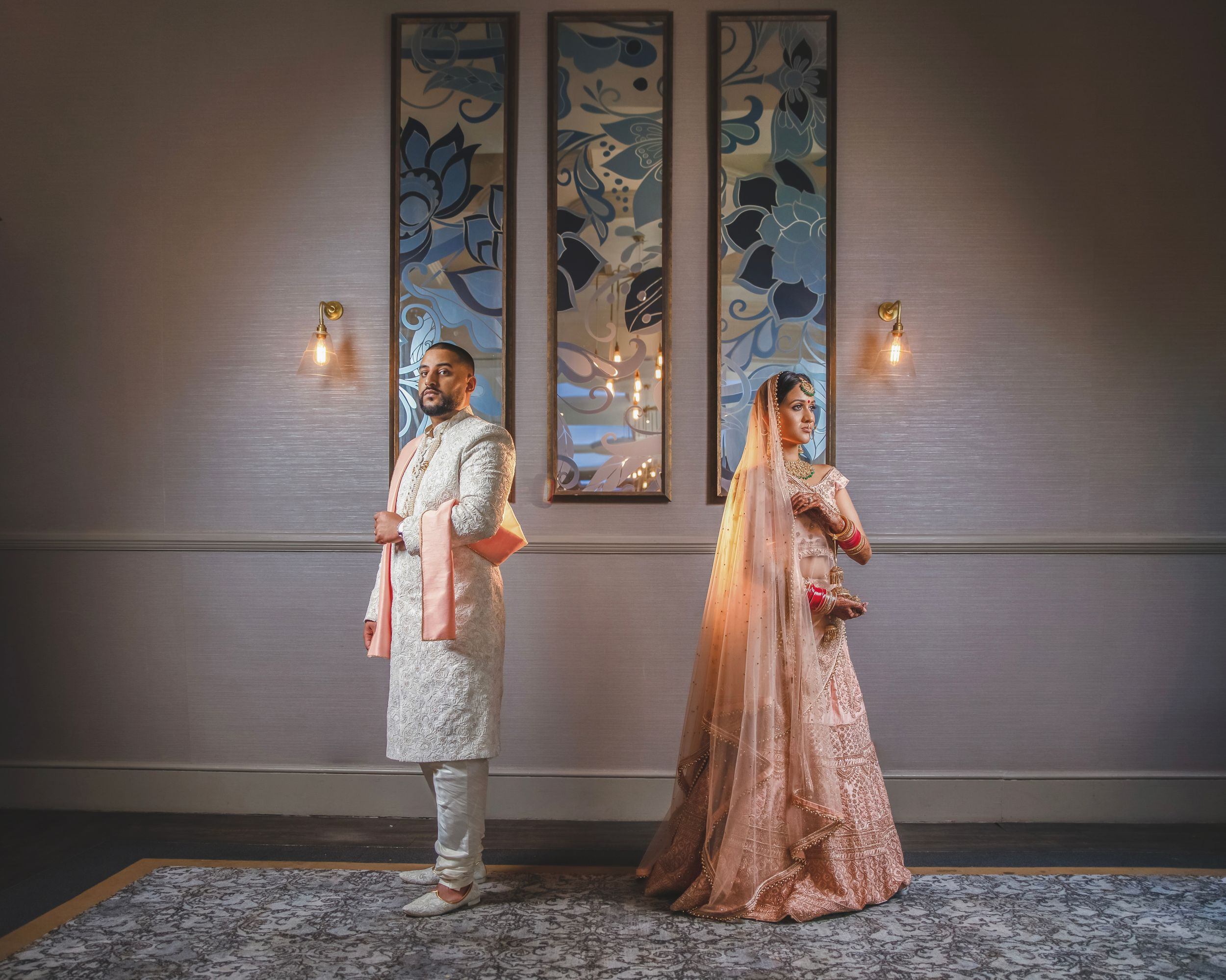 De Vere Beaumont Estate. Asian wedding photography. Indian wedding photographer London. Sikh wedding photography.