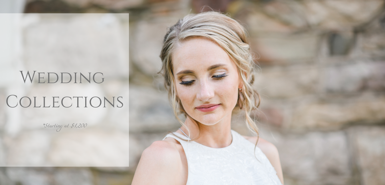 Wedding collections starting at $1,200