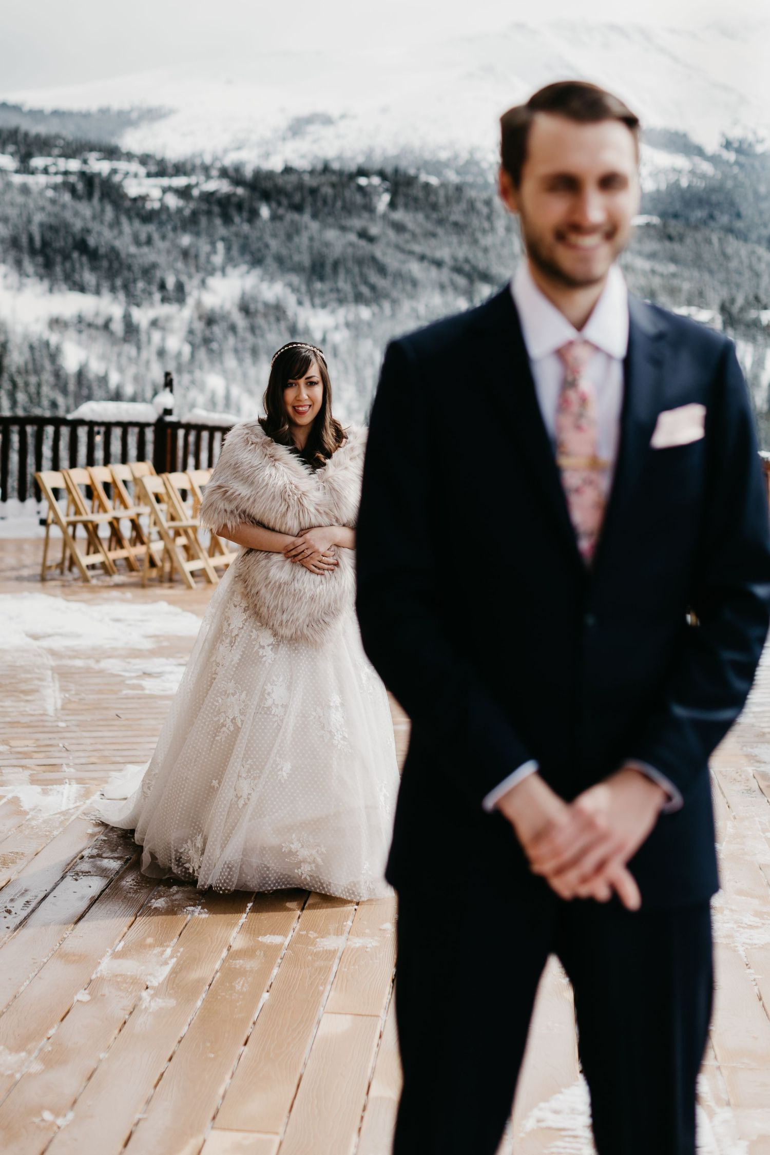 first look, Breckenridge, Wedding, portraits, the lodge, colorado, photographer, details, best CO weddings,  winter