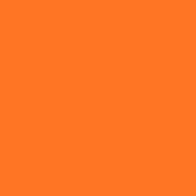 Orange Fluo Colour Swatch