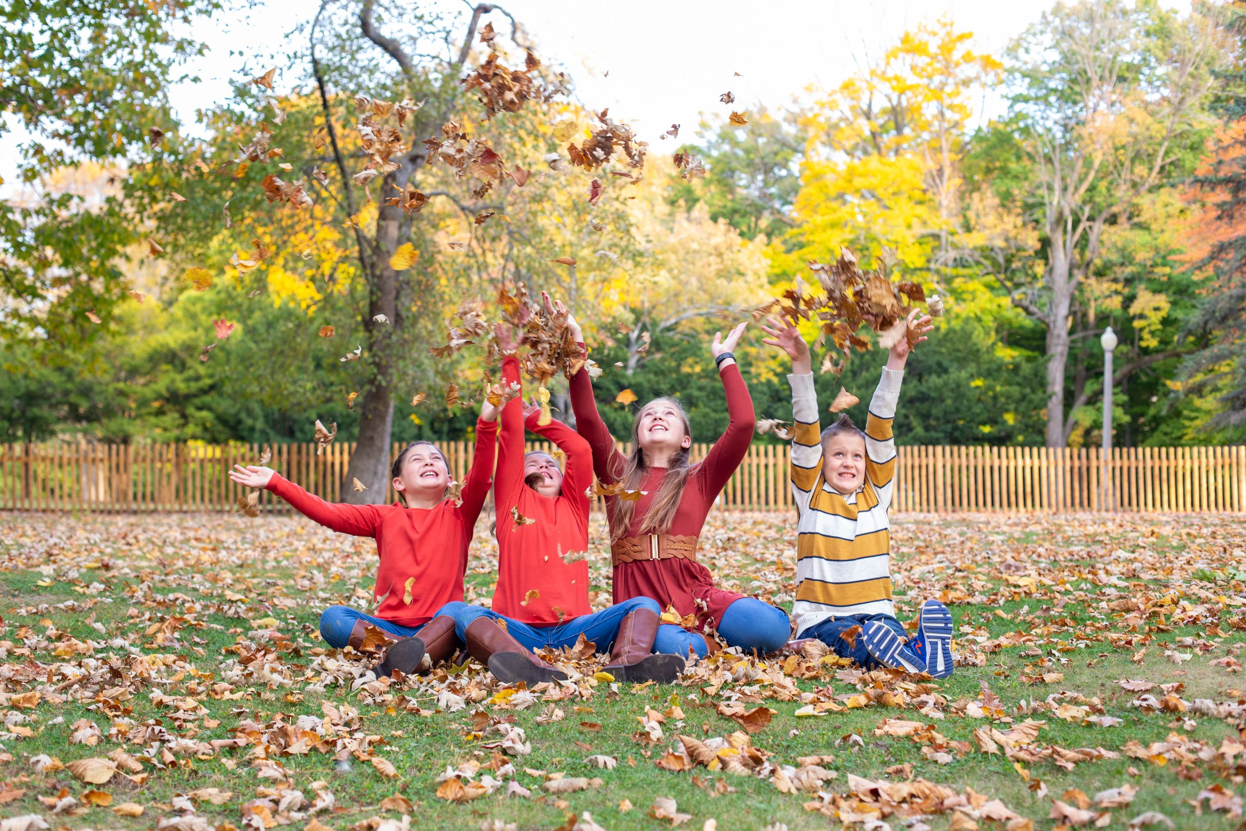 Kids Photography, Children Photography, Fun Photography with Kids, Fall Photography, Fall Family Photography, Kohler, WI