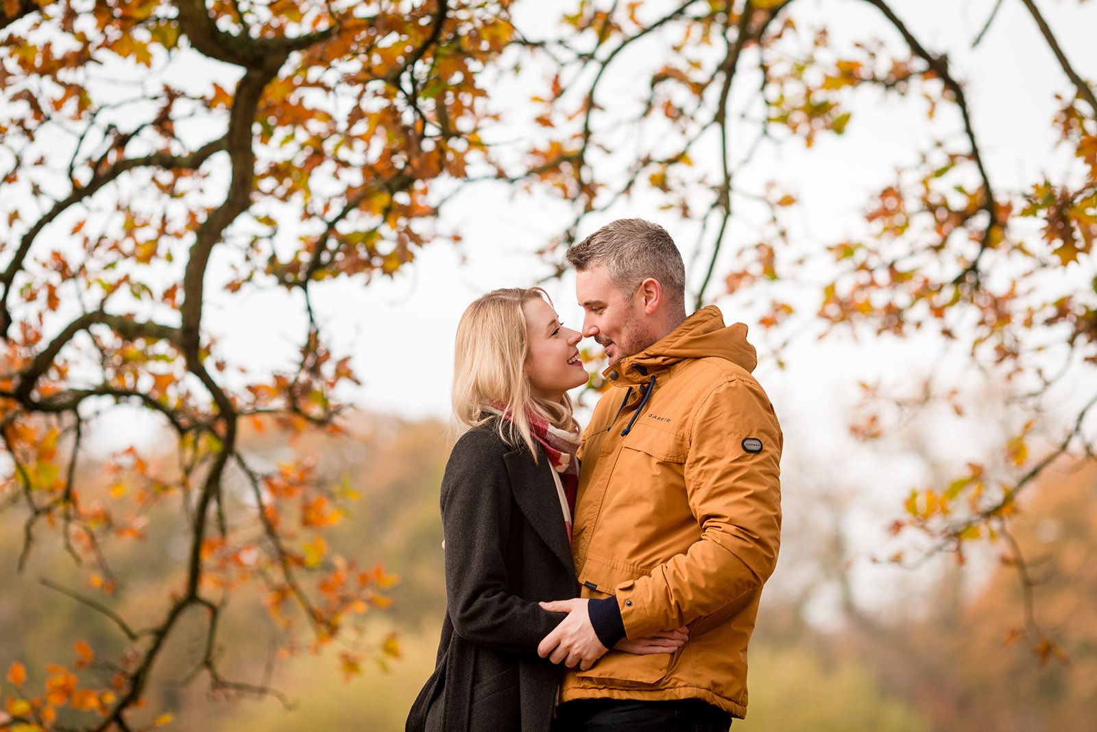 southampton engagement session autumn