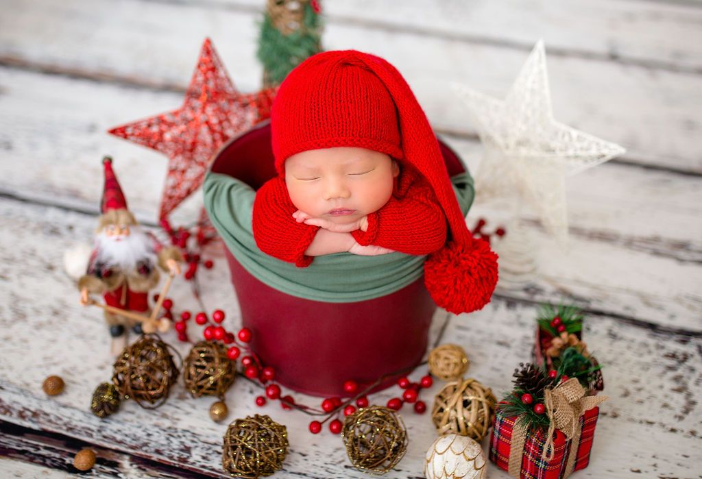 Christmas Mini Photography Session in Guelph, Newborn Photographer Guelph