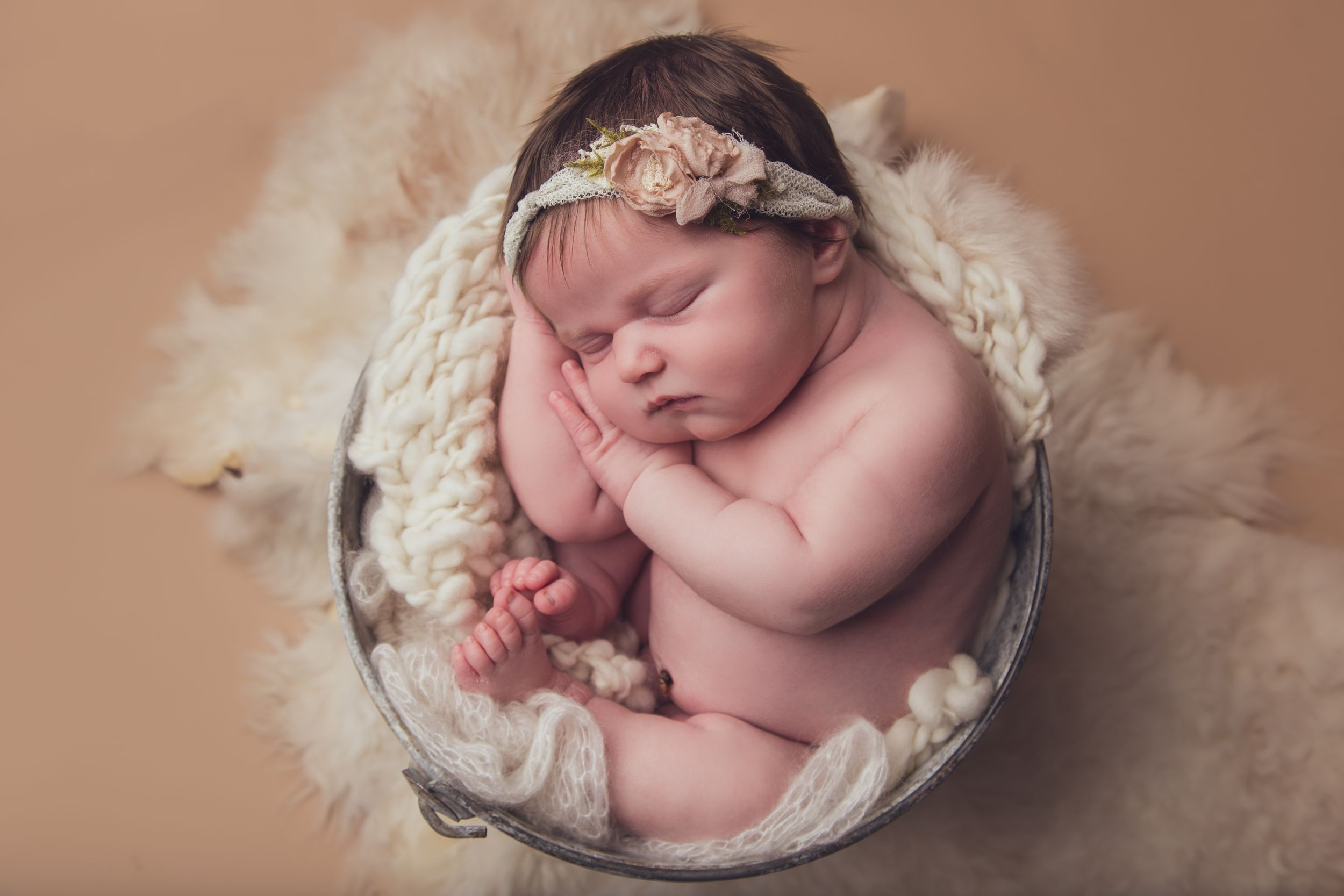 Newborn session in Penticton BC