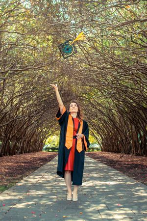 Graduation photoshoot by Balloon Photography, Dallas, TX