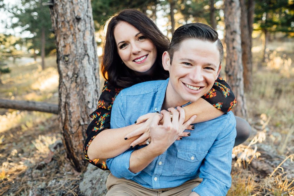 Jared and Caitlin Mauldin in Boulder Colorado