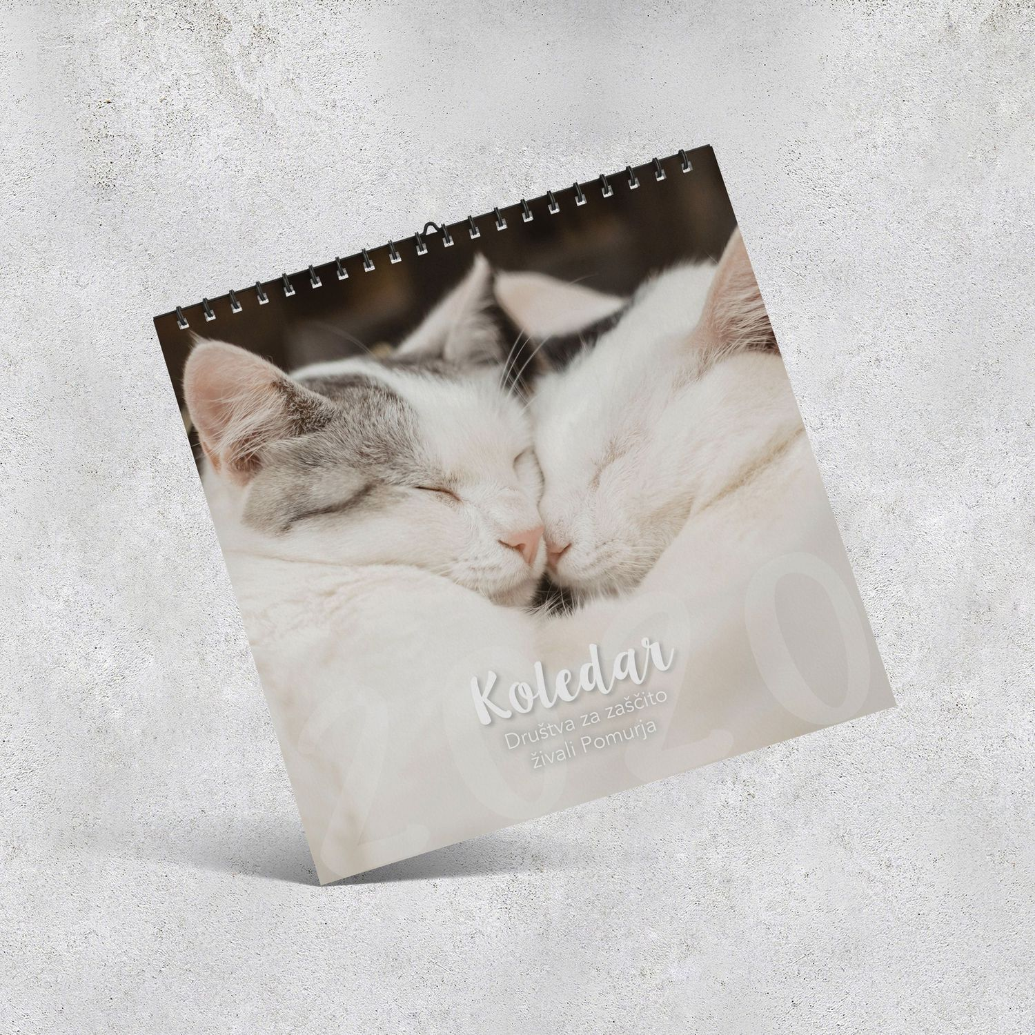 Calendar design for animal association