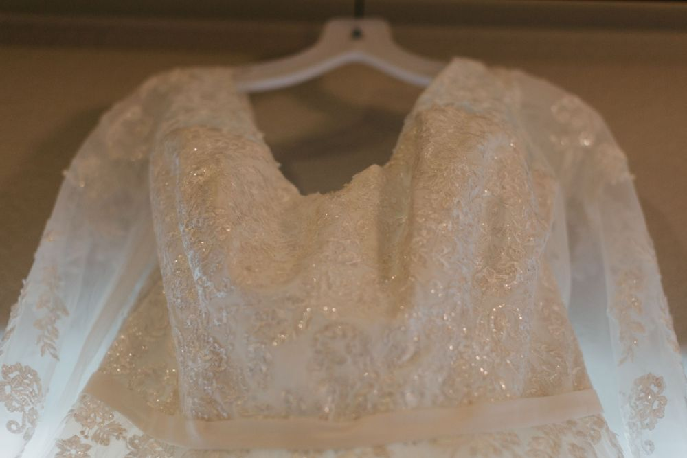 Gorgeous Dress Lace Detail Wedding