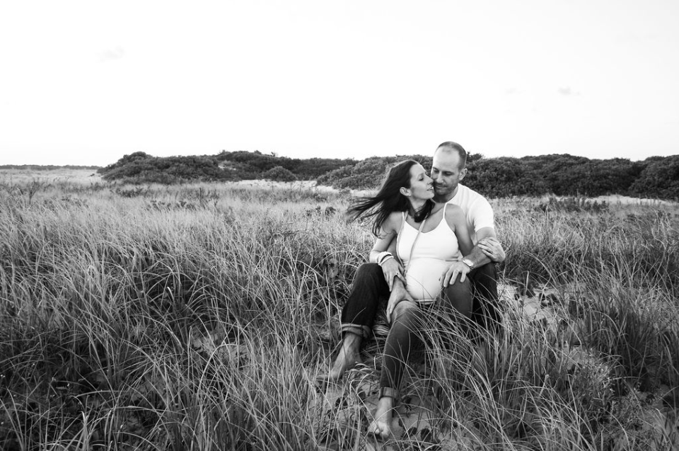 couple in love field grass sydney australia