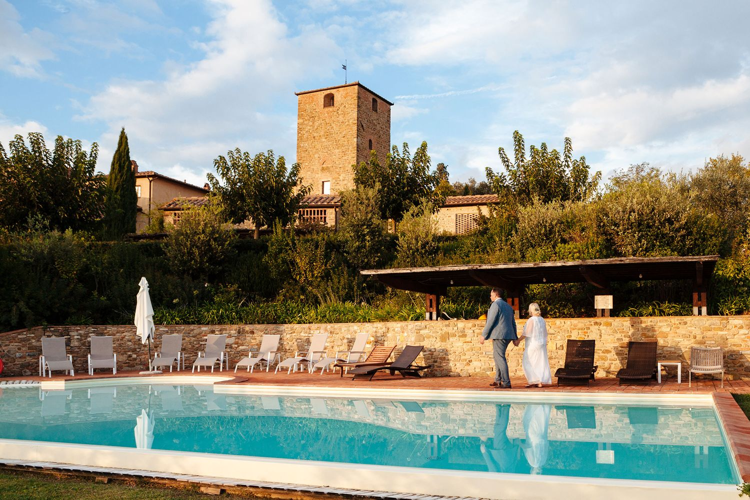 wedding venue Borgo Petrognano in Tuscany Italy by destination photographer