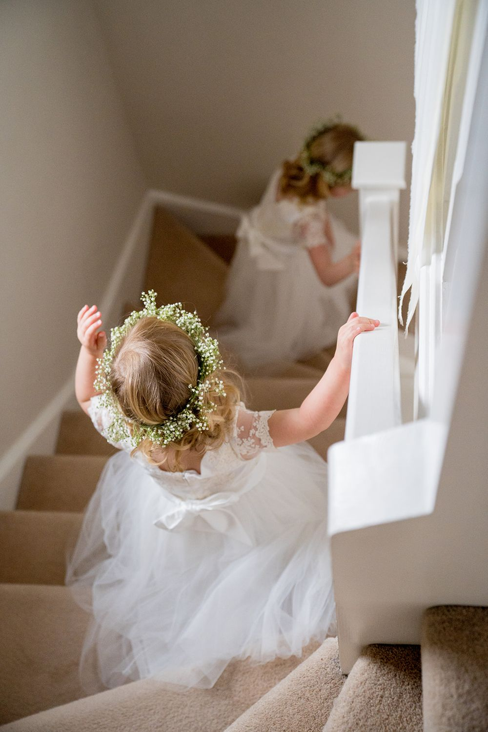 gip flower crown little bridesmiads