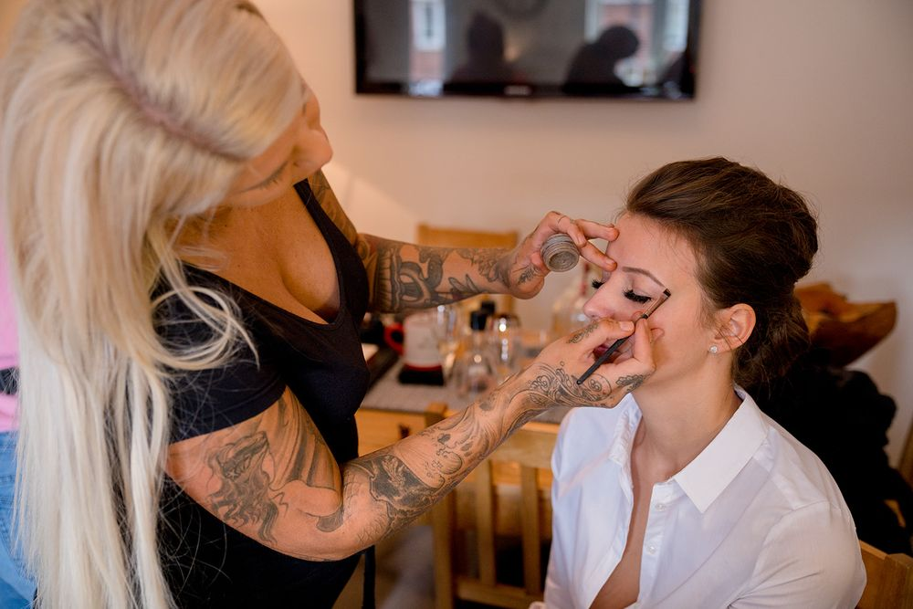Southampton wedding make up