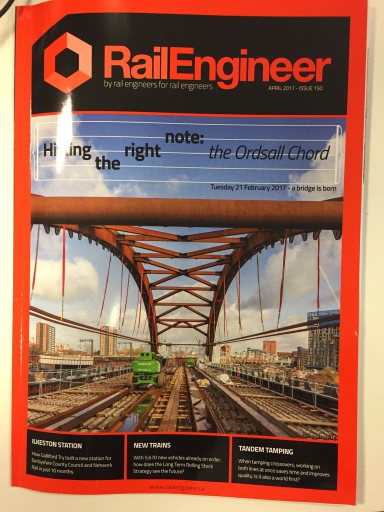 Rail Engineer Magazine Feb 2017 Ordsall Chord
