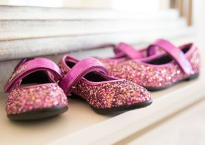 Bridesmaids shoes wedding photography