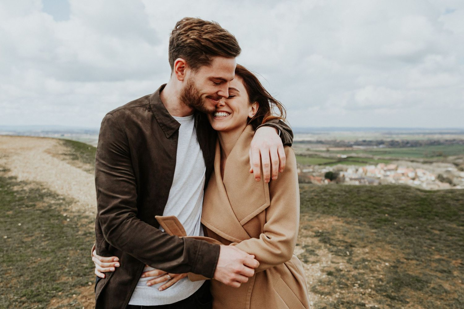 engagement photos in somerset