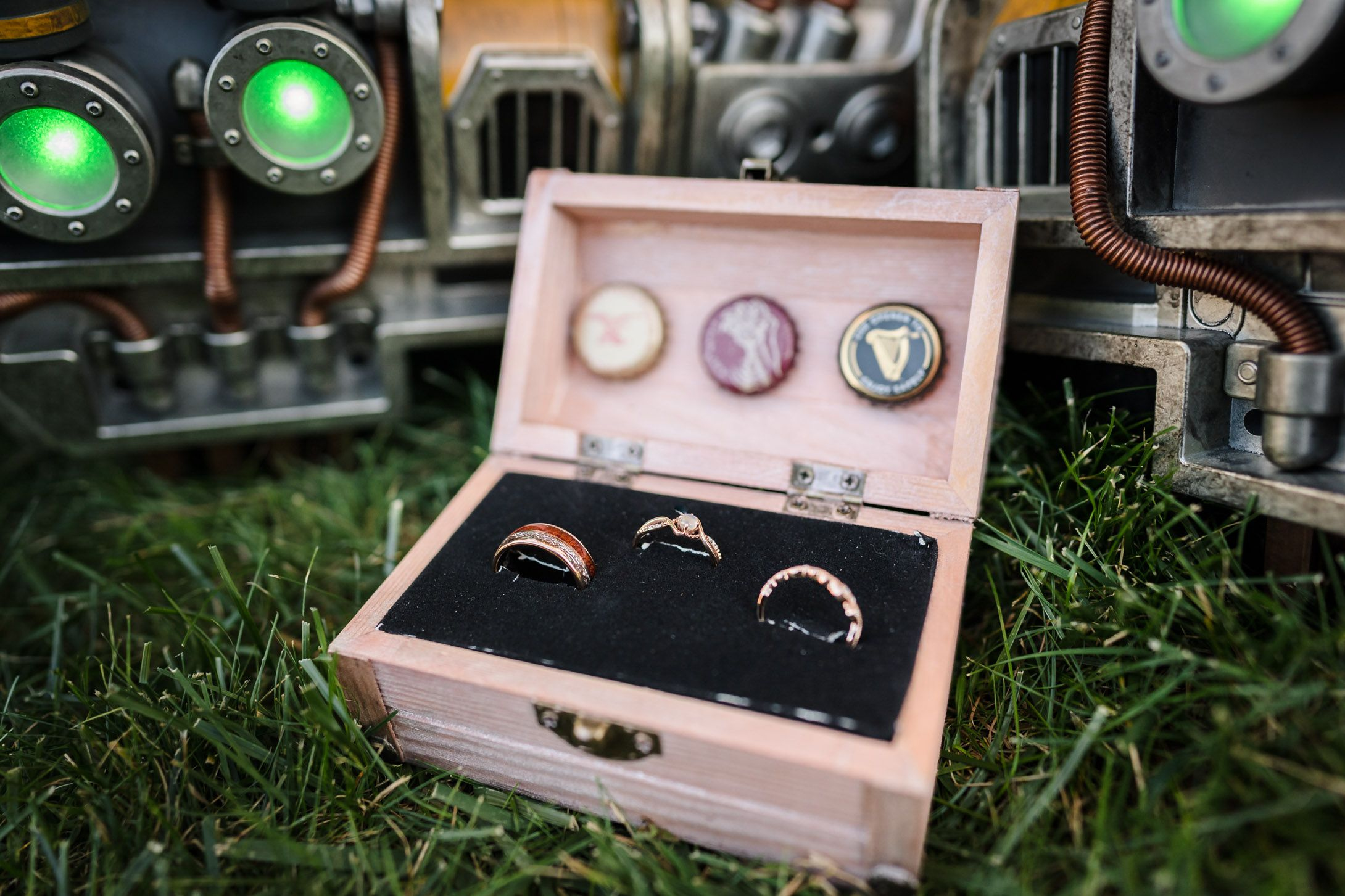 Preston Christman Photography Fallout Cosplay Wedding Lehigh Valley Wedding Photography Wedding Rings